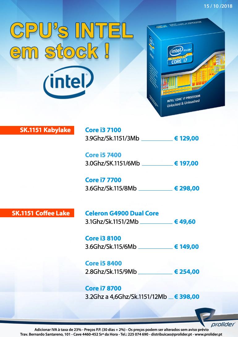 Index Of Tabelas Intel I3 8100 Cofeelake Series 15 Oct 2018